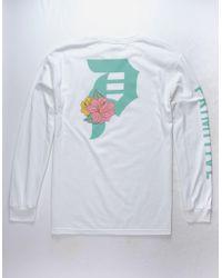 Primitive - Dirty P Hibiscus Mens T-shirt - Lyst