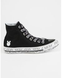 Converse - X Miley Chuck Taylor All Star High Top Shoes - Lyst