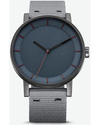 adidas - District_w1 Gunmetal & Legend Ivy Watch - Lyst
