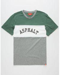 Asphalt Yacht Club - Triblock Mens T-shirt - Lyst