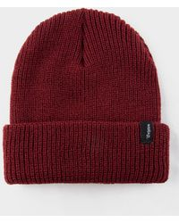 dc31dc9d Supreme Mohair Beanie (fw18) Burgundy in Red for Men - Lyst