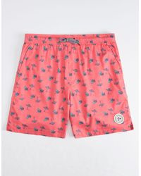 Imperial Motion Seeker Tub Mens Volley Shorts - Pink