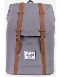 Herschel Supply Co. - Little America Mid-volume (polka Cameo Rose/rubber) Backpack Bags - Lyst