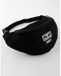 Obey Wasted Hip Bag - Black