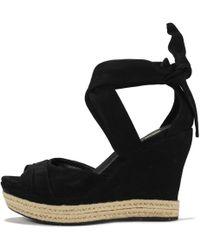 0c1f94c2676 UGG Ugg 'jules' Platform Wedge Sandal in Natural - Lyst