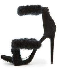 Shoe Republic | Pippa Black High Heels | Lyst