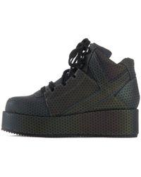 YRU - Qozmo Low Key Reflective Platform Sneaker - Lyst
