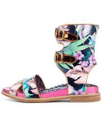 Irregular Choice - Tropic Like It's Hot Sandals - Lyst