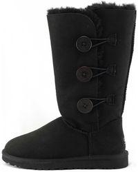 UGG Bailey Triplet Black Boots