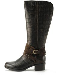 a950049207e Lyst - UGG Keller Croco Chelsea Boots in Brown