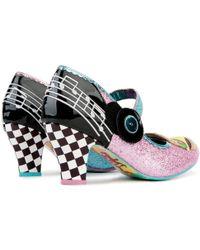 Irregular Choice Jitterbug Pink High Heel