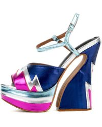 Jeffrey Campbell Electric Blue Heel