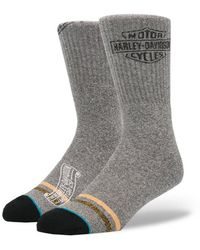 Stance - : Open Road Grey Socks - Lyst