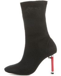 Jeffrey Campbell - For Women: Peligro Black Heeled Boots - Lyst