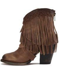 3a56b518e65 Tonto Cognac Heel Boots - Brown