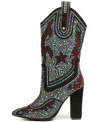 Cape Robbin | Beautiful-15 Black Boots | Lyst