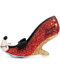 Irregular Choice Mickey Mouse & Friends Collection Oh Boy! Red Heel