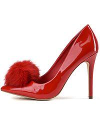 SHIEKH High Heel Pump Cyrus-01 - Red
