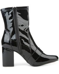 Legend Marcus-31 High Heel Ankle Boots - Black
