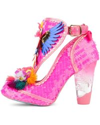 Irregular Choice Bellisima Ankle Boots - Pink