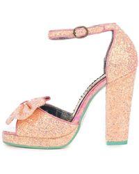 Irregular Choice Flaming June Pink High Heel