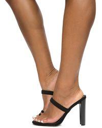 Liliana Daline Black High Heels