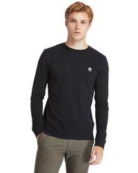 Timberland T-shirt Dunstan River À Manches Longues - Noir