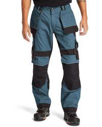 Timberland Pantalon De Travail À Poches Étuis Interax Pro® Bleu Sarcelle - Vert
