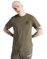Timberland - T-shirt Logo Arbre Camouflage - Lyst