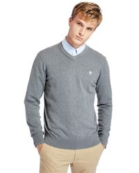 Timberland Pull Williams River Col - Gris