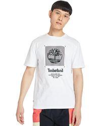 Timberland Herren-t-shirt - Weiß
