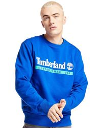 Timberland Sweat-shirt Established 1973 - Bleu
