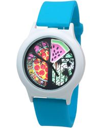 Time-Peace Presence 40mm Pizza Time - Blue