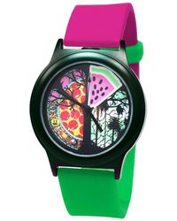 Time-Peace Presence 40mm Vice Nights - Green