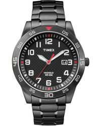Timex Watch Fieldstone Way 42mm Expansion Band Black