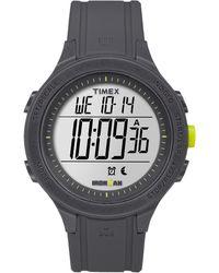 Timex Watch Unisex Ironman Essential 30 Silicone Strap Gray/digital