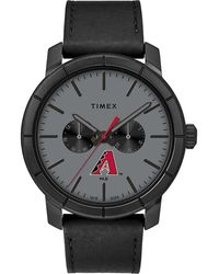 Timex - Watch Home Team Arizona Diamondbacks Black/gray - Lyst