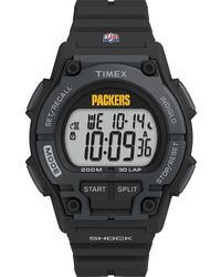 Timex Watch Takeover Green Bay Packers Black/digital