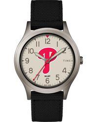 Timex - Watch Ringer Philadelphia Phillies Gray/black/other - Lyst