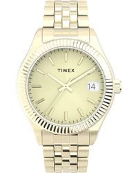 Timex Watch Waterbury Legacy 34mm Stainless Steel Bracelet Gold-tone/gold-tone/gold-tone - Metallic