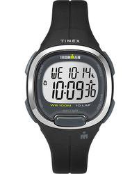 Timex - Watch Ironman Transit 33mm Mid-size Resin Strap Black/digital - Lyst