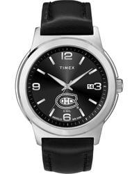 Timex Watch Ace Montreal Canadiens Silver-tone/black - Metallic