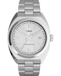 Timex - Milano Silver-tone Stainless Steel Bracelet Watch 38mm - Lyst