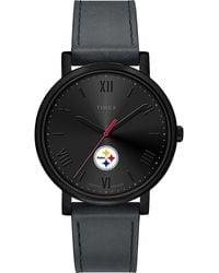 Timex Watch Night Game Pittsburgh Steelers Black/gray