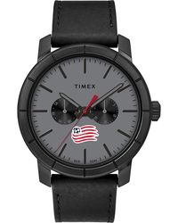Timex - Watch Home Team New England Revolution Black/gray - Lyst