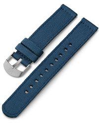 Timex Watch Unisex 18mm Fabric Strap Blue