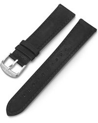 Timex Watch 20mm Quick Release Leather Strap Black