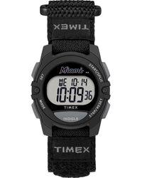 Timex Watch Unisex Rivalry Miami Marlins Black/digital