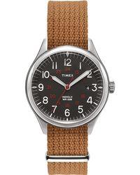 Timex Watch Waterbury United 38mm Fabric Strap N/a