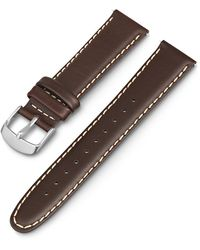 Timex Watch 20mm Leather Strap Brown